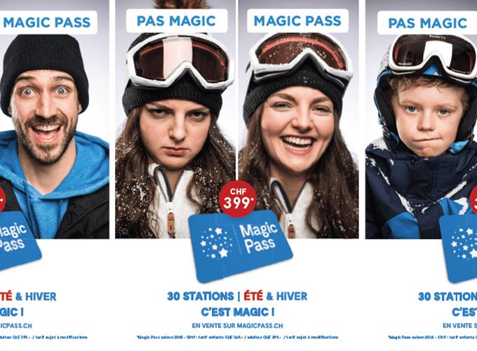 Magic Pass, Suisse